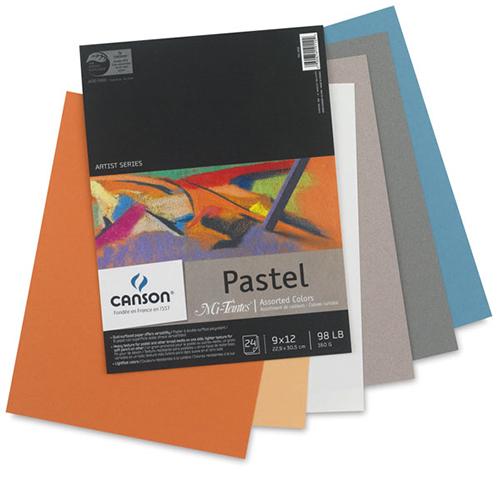 Canson Mi Teintes Pads Richmond Art Supplies