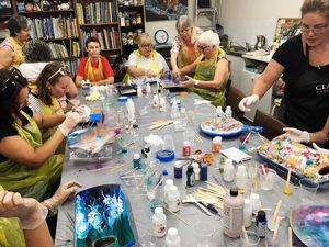 Reminder art resin workshop saturday 3rd march 2018 for Craft workshops near me
