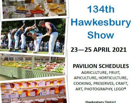 Hawkesbury Show 2021 – Entry Forms Schedule