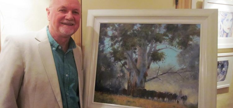 Reminder: Monthly Demonstration Meeting 11th June- Frank Hodgert – Oil Painting