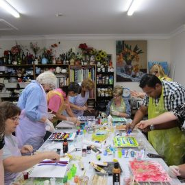 New Acrylic Pouring Introduction Workshop – Saturday – 30th November