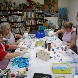 New Acrylic Pouring Introduction Workshop – Saturday, 1st May 2021