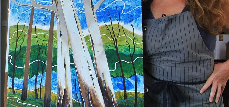 MTAS Monthly Demonstration Meeting 8th October – Carol Gill – Mixed Media Collage