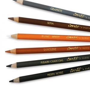 Conte-Pencils