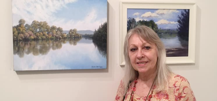Special Holiday Class! – Paint a Landscape Workshop in Acrylics with Deidre Morrison – 3rd January