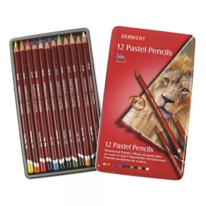 Derwent Pastel Pencils Set of 12