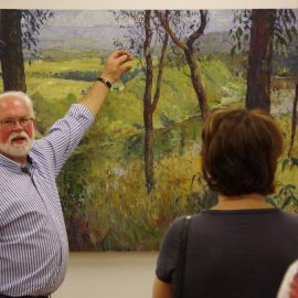 Greg Hansell Workshop – Still Life in Plein-air Composition and Perspective –  Saturday, 4th April 2020