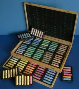 Jack Richeson Wooden box set