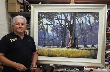 Reminder: Meeting & Demonstration 14th May – John Rice – Landscape in Oils