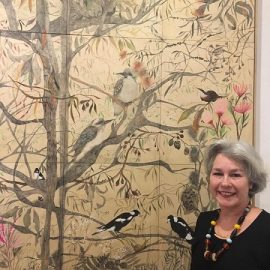 MTAS Monthly Demonstration Meeting, 11th February –  Julianne Allcorn  – Watercolour on Wood Panels