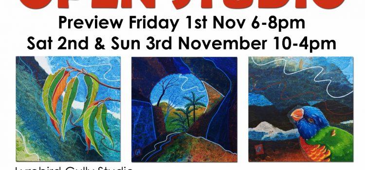 Carol Gill Open Studio Weekend – 1st to 3rd Nov