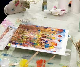 Acrylic Pouring Introduction Workshop – Saturday, 21st November