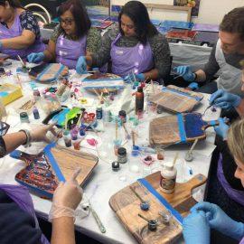 Resin Art Workshop – Saturday, 23rd May