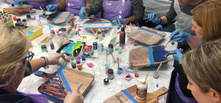 Resin Art Workshop – Saturday, 29th February