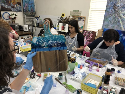 Resin Art Workshop – Saturday, 30th January 2021