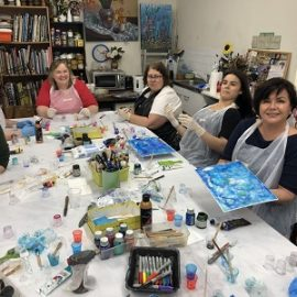 Resin Art Workshop – Saturday, 31st October