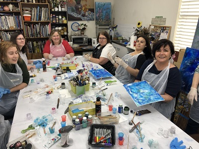 Resin Art Workshop – Saturday, 20th February 2021