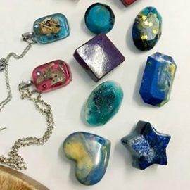 New Resin Jewellery Workshop – Saturday, 5th June