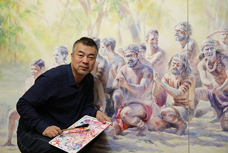 Reminder: Monthly Demonstration Meeting 9th July- Richard Chao – Portraiture in Watercolour