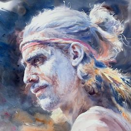 MTAS Portraiture in Watercolour Workshop with Richard Chao – Sunday, 8th March
