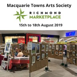 MTAS Richmond Marketplace Exhibition 15th to 18th August 2019