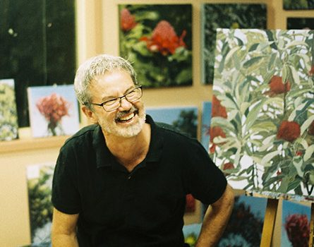 Monthly Demonstration Meeting 13th August- Stephen Travers – Oil Painting