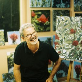Reminder: Oil Painting Workshop with Stephen Travers – Sunday, 8th September