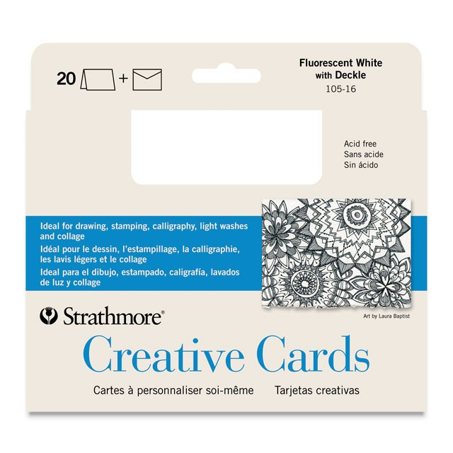 Strathmore Blank Cards Set of 10 Richmond Art Supplies