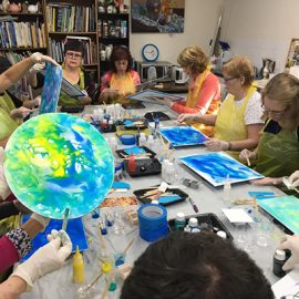 MC College Resin Workshop 2nd March – Saturday