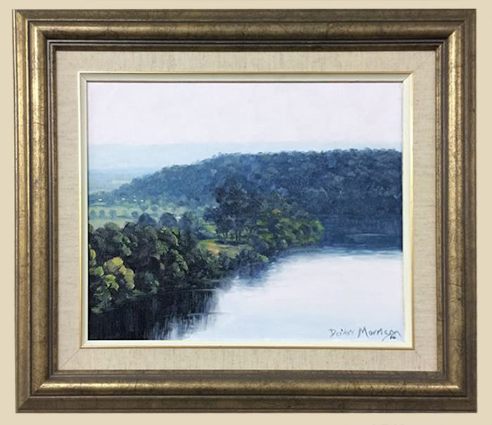 Bend in the River by Deidre Morrison Richmond Art Supplies