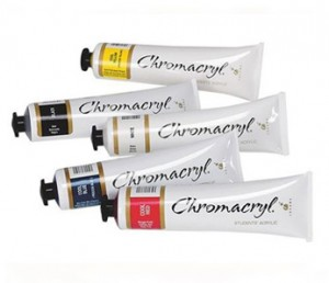 chromacryl-student-acrylic-richmond-art-supplies