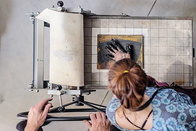 Reminder: Print Making Workshop with Katherine Kennedy – 5th May