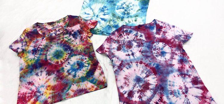 New Tie Dye a T-Shirt (BYO T-Shirt) Workshop – Thurs 15th April